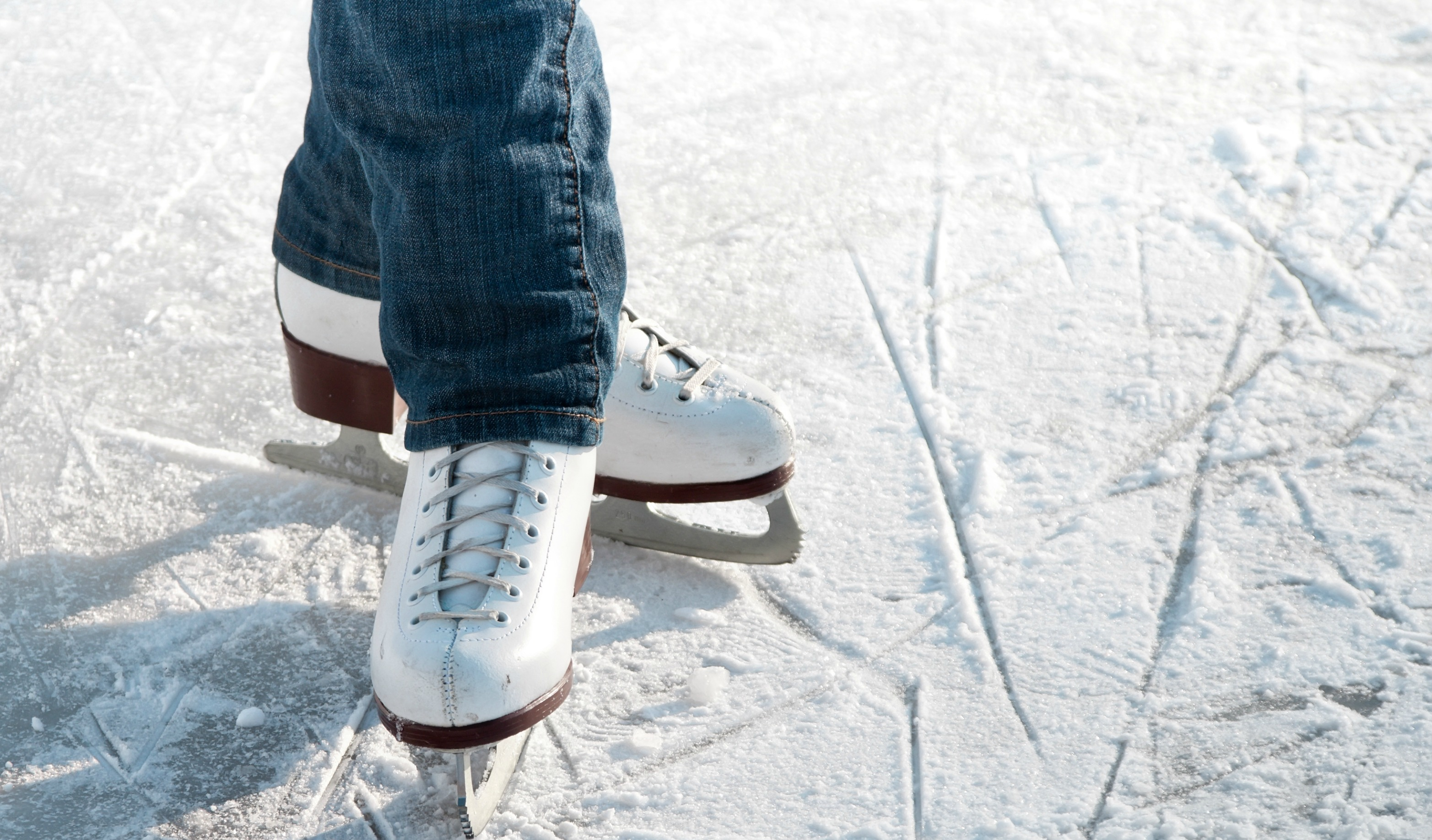 Ice Skates. The Backyard Is A Haven For Family Fun During The Summer. With  Barbecue Grills Blazing, Families All Over America Head Outdoors For A  Refreshing ...