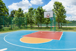 Chicago Outdoor Basketball Court