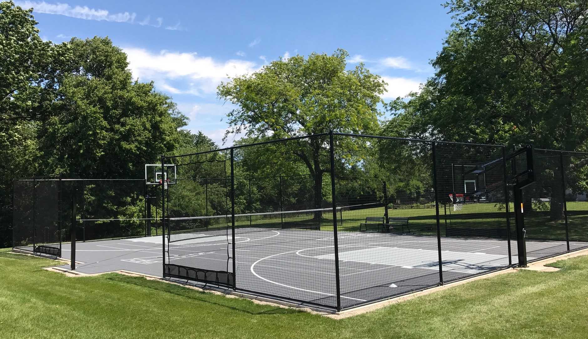 Custom Basketball Courts